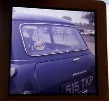 MINI MINOR CAR IN Car Park 1964 - PHOTO SLIDE