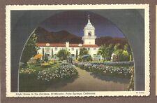 VINTAGE POSTCARD UNUSED EL MIRADOR PALM SPRINGS CALIFORNIA