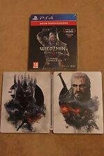 The Witcher 3 - The Wild Hunt Steel Case STEELBOOK G2 PS4  Skellige