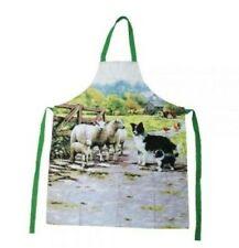 Leonardo Border Collie & Sheep Apron by Richard MacNeil