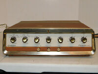 Vintage Grommes Model 40PG Tube Hi Fidelity Amplifier Amp Rare Works