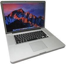 "Apple MacBook Pro 6,1 17"" i7-M640 2.8GHz 500GB 8GB Mid-2010 Matte A1297"