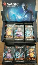 5 - Core Set 2021 sealed Booster Packs MTG Magic the Gathering NEW Fast Shipping