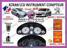 AFFICHEUR ECRAN LCD  COMPTEUR ODB PEUGEOT 407, 407 SW et 407 COUPÉ !