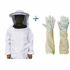 Beekeepers Schutzanzug Imkerjacke Hut Schleier Imker Jacke Imkerei Handschuhe F