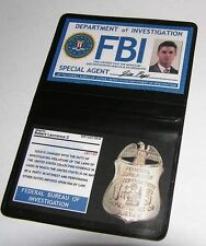 Badge pour cosplay Badge FBI de Dean Cosplay Supernatural Dean FBI id wallet