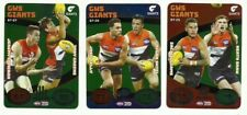 2018 TEAMCOACH BATTLE TEAMS GWS GIANTS TEAM SET 3 CARDS TEAM COACH AFL