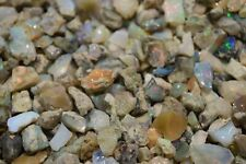 Natural Ethiopian Welo Opal Rough 5ct Less Small Pieces $2.80+ Per Gram Raw Fire