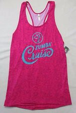 Women Top XS  Berry Cruise 2016 Cover up  Racerback Polyester Spandex  Zumba
