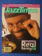 JAZZ TIMES MAGAZINE JUNE 1996 KENNY GARRETT ARTHUS BLYTHE BILLLY HARPER MULLIGAN