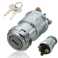 Replacement Ignition Universal Switch Lock Cylinder with 2 Keys For Car Auto YU