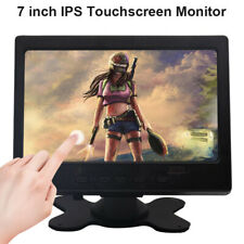 7 inch IPS LCD Touch Monitor 1024×600 HDMI+VGA+AV Display for Raspberry Pi