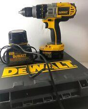 Dewalt DCD920 14.4V Volt XRP 1/2 Cordless Drill/ Driver W Battery Charger + Case