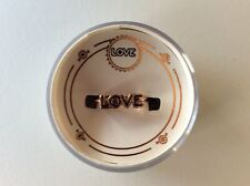 Alex and Ani Love Adjustable Ring 14kt Rose Gold Plated New Tag Box Card 2019