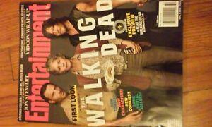 Entertainment Magazine #1375 Aug 2015,The Walking Dead,Rick,Daryl & Carol