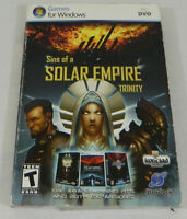 Sins of a Solar Empire Trinity Windows PC DVD Ironclad Stardock Rated T MBX