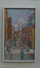 Unbek. Expressionist-strassenszene-sacré Coeur de Montmartre-paris-france