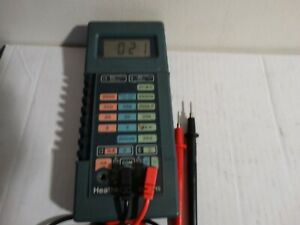vintage heathkit im-2215 portable digital multimeter