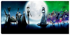 Quadro moderno LA SPOSA CADEVERE 90X40 disney cinema new york comics fumetto
