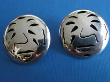 Taxco Mexico Sterling 925 Interesting Post Earrings Signed Tm-214
