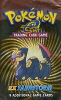 Pokemon Pokemon EX EX Sandstorm Booster Pack MINT