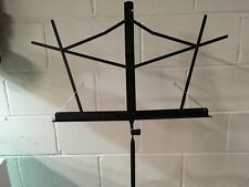On Stage Sm7122Bb Folding Music Stand with Carrying Bag Black