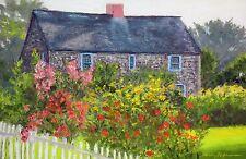 Summer Cottage (12 x 18.25)-- Giclee Print by Shelley Koopmann