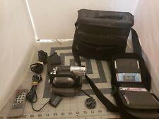 Hitachi DZ-HS300A DVD Hybrid Camcorder with 25x Optical Zoom, Bundle 6 disk