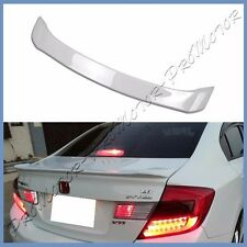 PAINTED 12- 2013 Honda Civic 9th OE Type Trunk Wing Spoiler Lip Fit DX EX LX 4DR