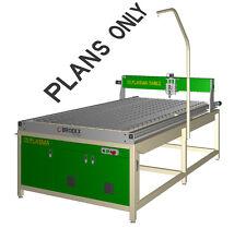 CNC Plasma Table  8'x4' DIY Plans