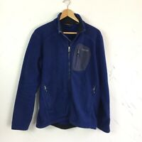 MARMOT Windstopper Blue Fleece Jacket Women's Size Medium Polartec