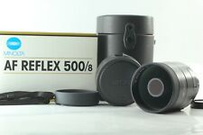 [TOP MINT IN BOX] Minolta AF REFLEX 500mm f8 Lens for A Mount From Japan