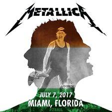 METALLICA / World Wired Tour / LIVE / Hard Rock Stadium ,Miami - July 07, 2017