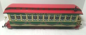 Bachmann G BIG HAULER 90054 Holiday Special Christmas Observation Car - LN C8
