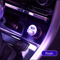1X Mini USB Purple LED Car Interior Light Neon Atmosphere Ambient Lamp Decor