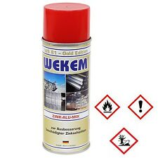 1 x 400ml Wekem Zink Alu Mix gegen Oxidation WS81