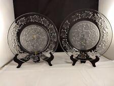 Set of 2 Princess House Fantasia Dinner Plates