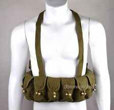 Surplus Chinese Army Military SKS Type 56 Semi Ammo Chest-Rig Bandolier Pouch