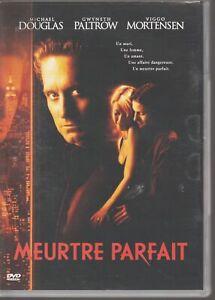 Meurtre Parfait Dvd Michael Douglas Gwyneth Paltrow Viggo Mortensen