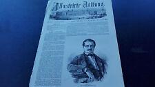 1860 Stich 250 / James FazyPolitiker aus Le Petit-Saconnex Genf Schweiz