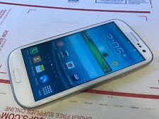 Samsung Galaxy S III SPH-L710 - 16GB - Marble White (Virgin Mobile) Works - Read