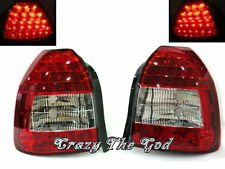 Civic 1996-2001 3Dr Hatchback LED REAR TAIL LIGHT R/Clear HONDA