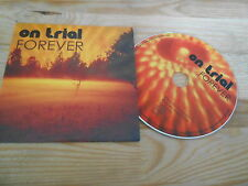 CD Indie On Trial - Forever (11 Song) Promo BAD AFRO REC cb