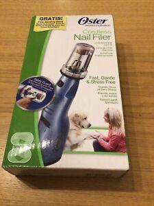 Oster Cordless Dog Nail Filer
