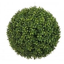 "20"" Artificial Outdoor Boxwood Ball Topiary Plant Tree Flower Pool Patio Porch"