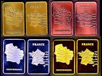 ★★ COLLECTION COMPLETE DE 4 MEDAILLES ● LA REGION LES HAUTS DE FRANCE ★★