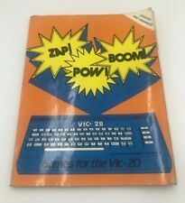 Zap! Pow! Boom! : Arcade Games for the Commodore VIC-20 by Tim Hartnell /Ramshaw