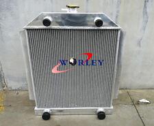 ALUMINUM ALLOY RADIATOR FORD CAR FLATHEAD V8 ENGINE M/T 1949-1953 1950 1951 1952