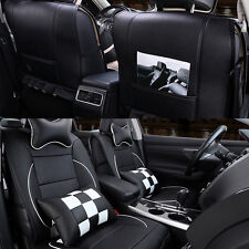 10pcs Set PU Leather Car Seat Cover Cushion For VW GOLF POLO PASSAT JETTA FABIA