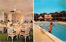 Ramada Inn New Port Richey Florida Fl bikini girl in pool Postcard